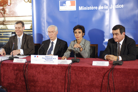 R�forme de l'Ecole Nationale de la Magistrature - Cr�dits Photos C MONTAGNE